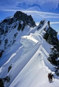 kitartás hegymászás