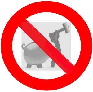 Gyermek megtakaritasok persely feltörés tilos
