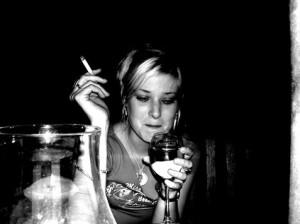 alkoholista lány